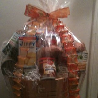 make and give a Thanksgiving Basket.