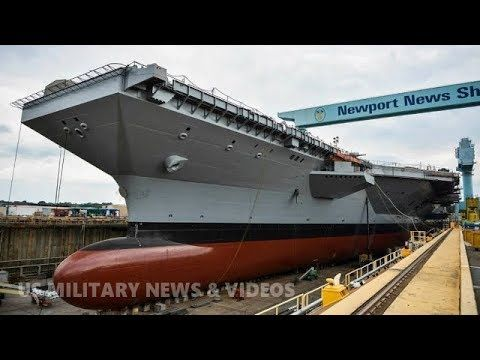 America S Next Super Aircraft Carrier Is Almost 50 Percent