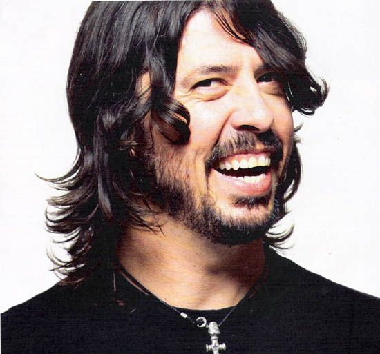 Major musical influence and all round nice guy-Mr Grohl