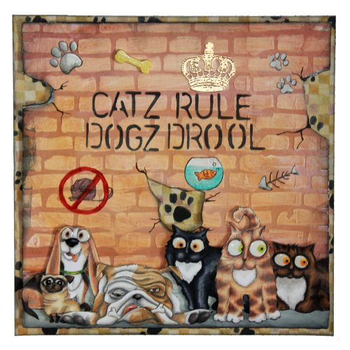 CS129D 'Catz' Clear set contains 12 stamps.Stamp Set designed by Sharon Bennett. Card by Sally Dodger:
