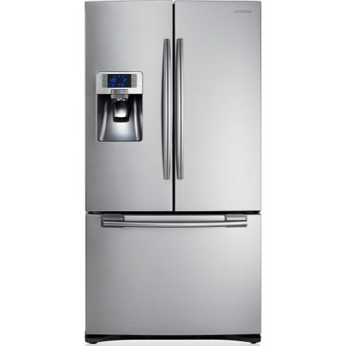 The Samsung RFG23UERS1 G-series american fridge freezer is perfect if you want to keep your kitchen simple but you need the space to accommodate the food for a large family #appliancesdirect #minimalistdreams