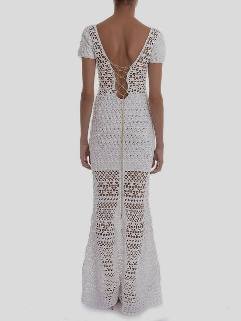 Tejido de punto Crochet - Gráficos: Vestidos Thaila