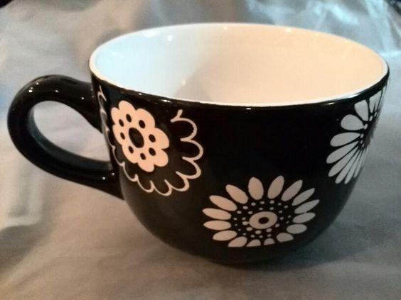 Taza flores!! Mi nuevo regalo de colección!! :)