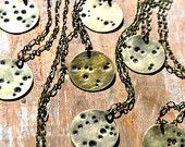 Zodiac Constellation Necklace - Hand Stamped Brass Pendant on Vintage Brass Chain - Choose Your Sign. $30.00, via Etsy.: For Brass, Brass Chain, Constellation Necklace, Chain August, Birthday August