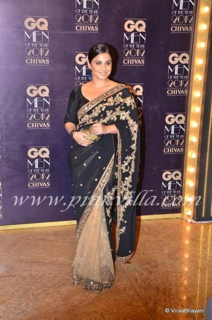 Vidya Balan at the GQ Men Of The Year Awards 2012 | PINKVILLA
