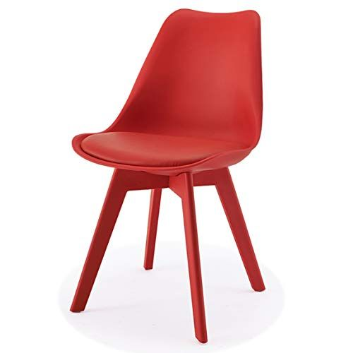 Lrw Nordic Plastic Dining Chair Modern Creative Backrest Chair
