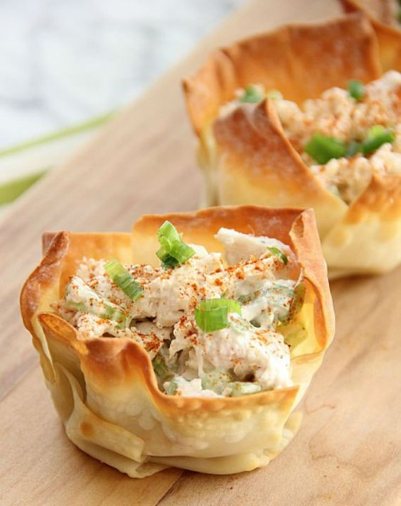 Cold Appetizers, Appetizer Recipes And Phyllo Cups On