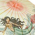 Tattoo Mermaid Parasol