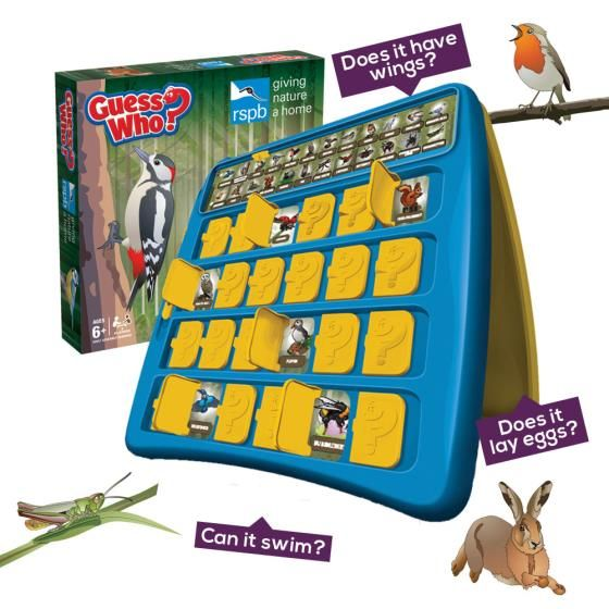 Rspb Guess Who Game Gaming Blog Guess Games