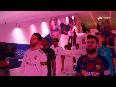 Efootball Pes 20 Demo Real Madrid Vs Barcelona Full Match
