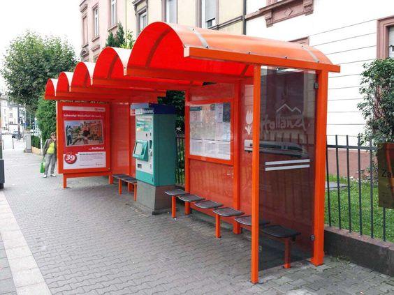 Orange Wartehalle . #Special Ad #Sonderumsetzung für NBTC Holland-Markting | Frankfurt a.M. | Sept. 2014
