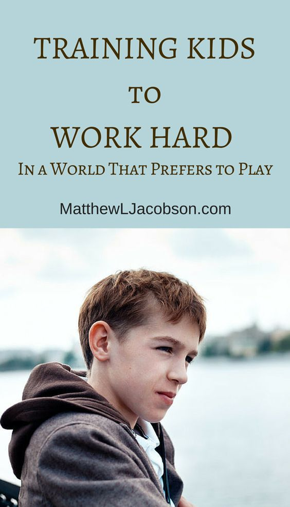 Give your kids the tools they require for self-respect and genuine achievement. Practical wisdom for teaching kids how to work hard. MatthewLJacobson.com