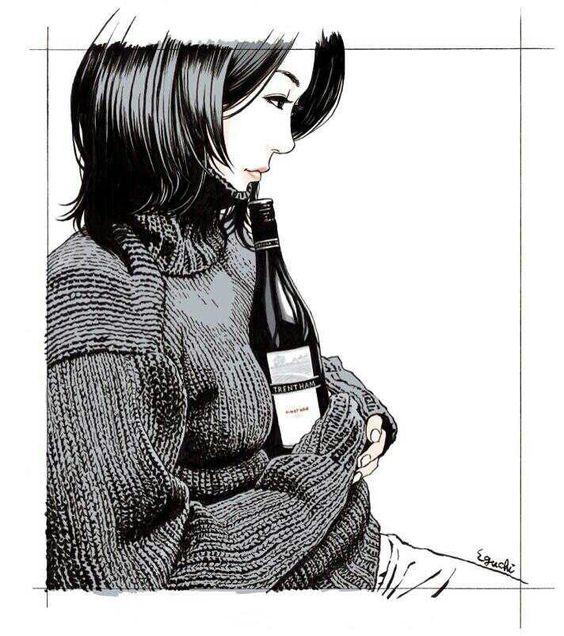 江口寿史の萌え袖画像