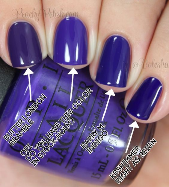OPI: Nordic Collection Comparisons