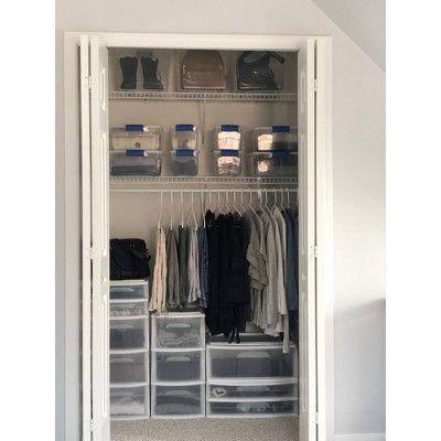 Homz 5 Drawer Medium Storage Tower White Plastic Storage Drawers Storage Drawers Room Organization Bedroom