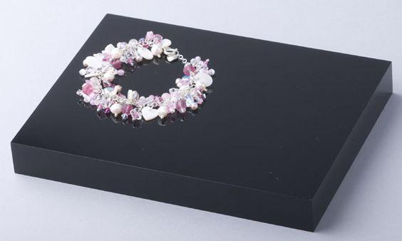 Jewellery Blocks : Acrylic - Perspex Solid Jewellery Display Blocks