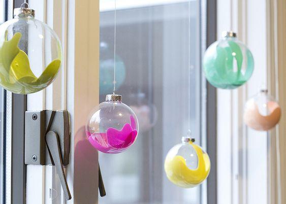 DIY : 15 boules de noël à faire soi-même