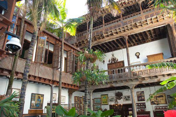 La Casa de los Balcones. Tenerife