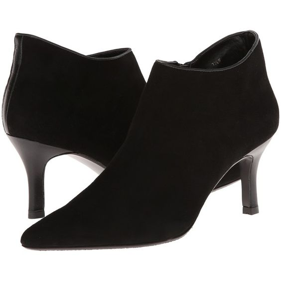 Vaneli Zelig Women's Shoes, Black ($70) ❤ liked on Polyvore