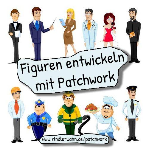 Figuren entwickeln mit #Patchwork. #autorenprogramm