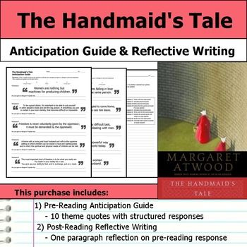 "essay handmaids tale An review of novel ""the handmaids tale"" by margaret atwood with an emphasis on the domination of women in margaret atwoods novel, ""the handmaids tale"", the."
