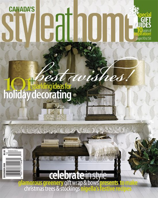December 2008 Issue Of Canada 39 S Style At Home Magazine Magazines Pint