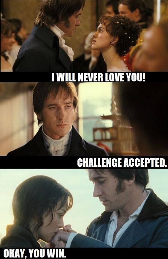 This is basically the Pride and Prejudice plot.