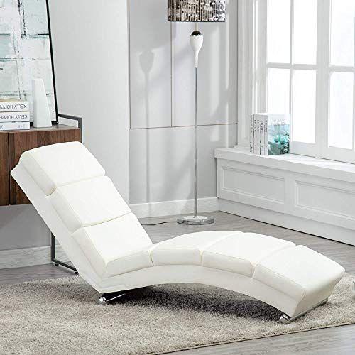 Mecor Chaise Longue En Cuir Chaise Longue Canape Angle Fauteuil Tendance