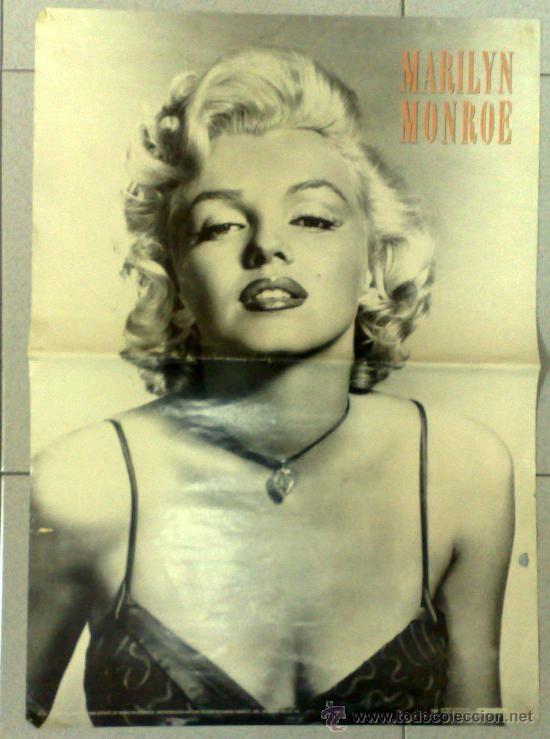 Póster antiguo de Marilyn Monroe