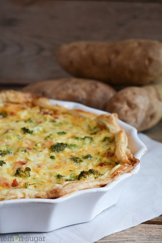 Potato quiche recipes easy