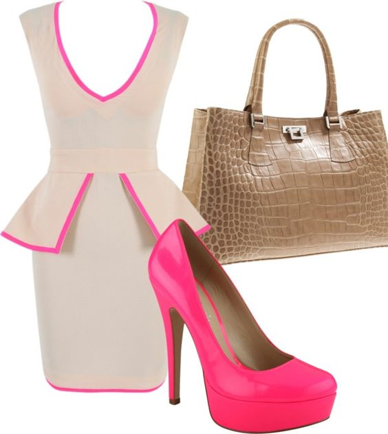Pretty in Pink, created by jhawkins0522 on Polyvore