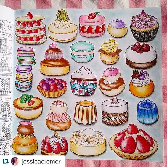ficou maravilhoso!!  #colorindosegredosdeparis #segredosdeparis - Repost @jessicacremer ・・・ Primeira pintura do livro Segredos de Paris!  yummy!  #segredosdeparis  #colorindosegredosdeparis  #colorindolivrostop  #jardimsecreto  #secretgarden  #coloriage  #coloringbook  #secretparis #parissecret  #colorindolivros  #zoedelascases #jardimcolorido #mundodaspinturas  #mundoscoloridos #desenhoscolorir