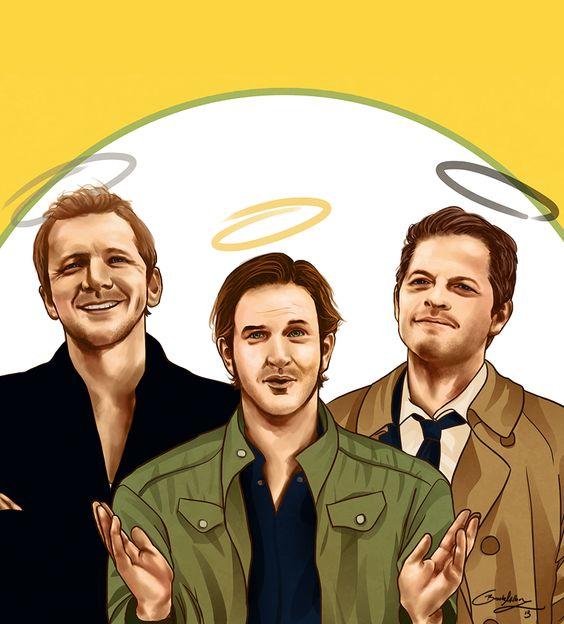 Os três anjos mais importantes de sobrenatural