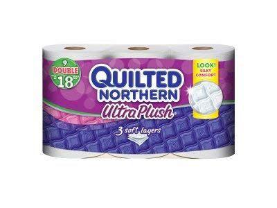 Quilted Northern Ultra Plush Bath Tissue 9 Double Rolls Review Quilted Northern Bath Tissue Household Essentials