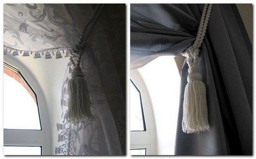 Подвязки для штор