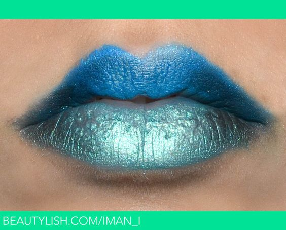 Ombre Lip Blue / Green