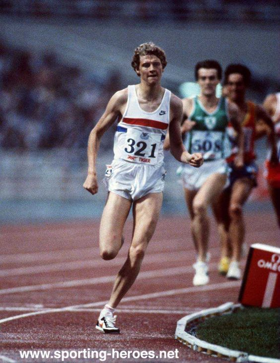 Steve Cram. First man under 3:30 for 1500m. Set WRs over 1500m, mile, and 2000m over a 19-day period in 1985. The 1983 WC gold medalist and silver in Los Angeles.
