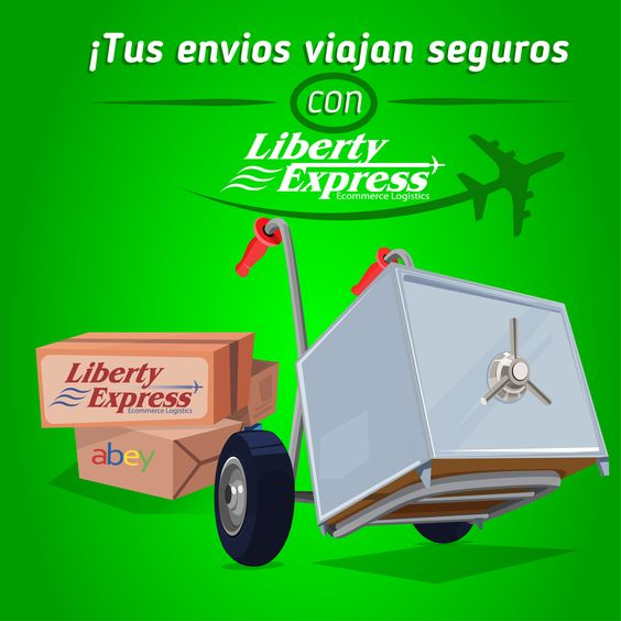 Tus envíos viajan seguros con nosotros. Liberty Express, líder en transporte internacional de mercancías.