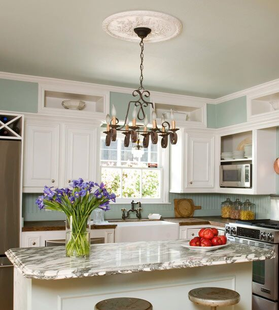 30 Kitchen Decorating Ideas You Can Do In A Weekend Kitchen Soffit Kitchen Decor Kitchen Design
