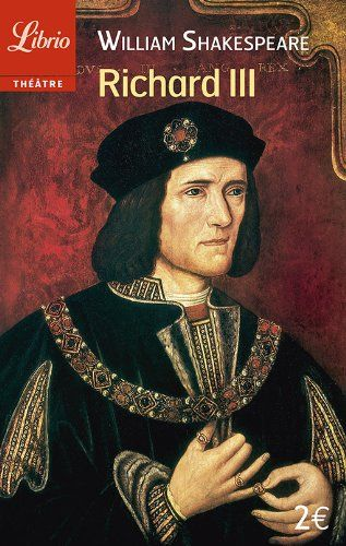 La pièce met en scène l'ascension et la chute brutale du vrai Richard III, tyran battu par le futur Henri VII d'Angleterre à la bataille de Bosworth.