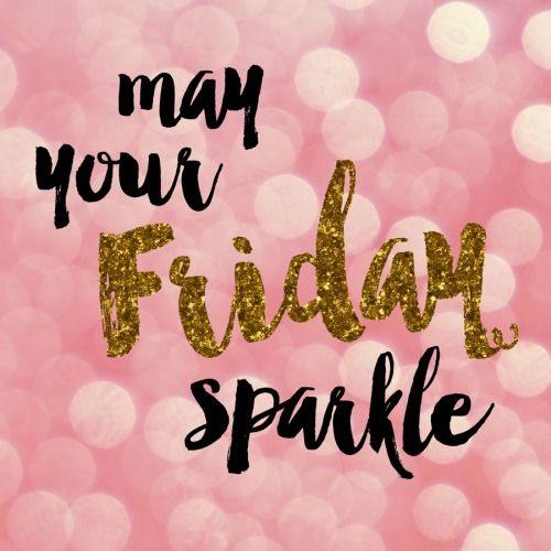 may your Friday sparkle  by Pretty Print Shop
