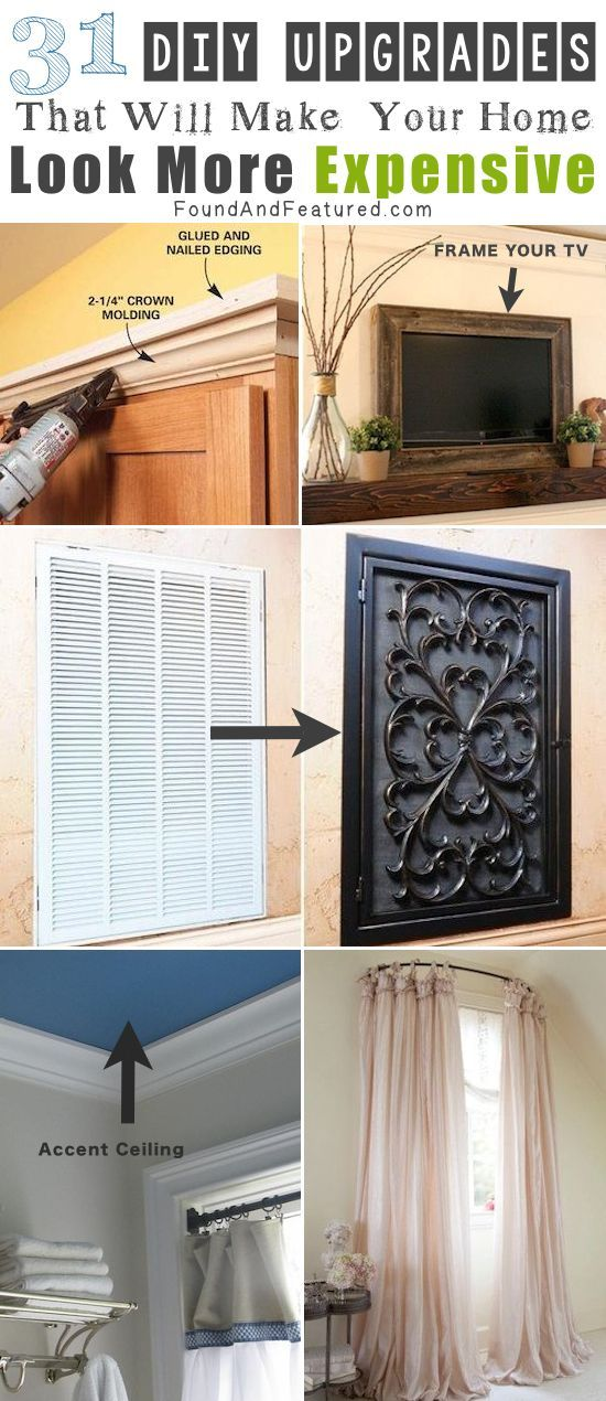 31 DIY that make your home look more expensive