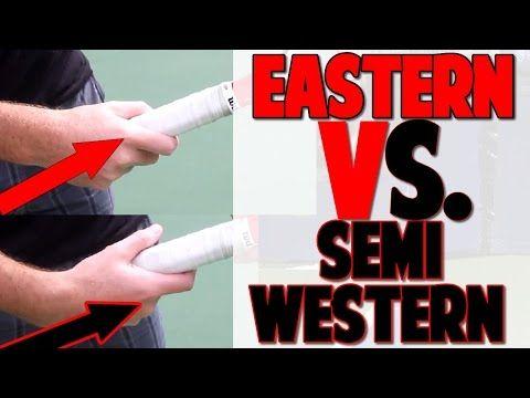 Best Tennis Grip Eastern Vs Semi Western Top Speed Tennis Youtube