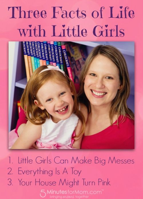 A Tale of Two Pretties: The Big Messes that Come with Two Little Girls