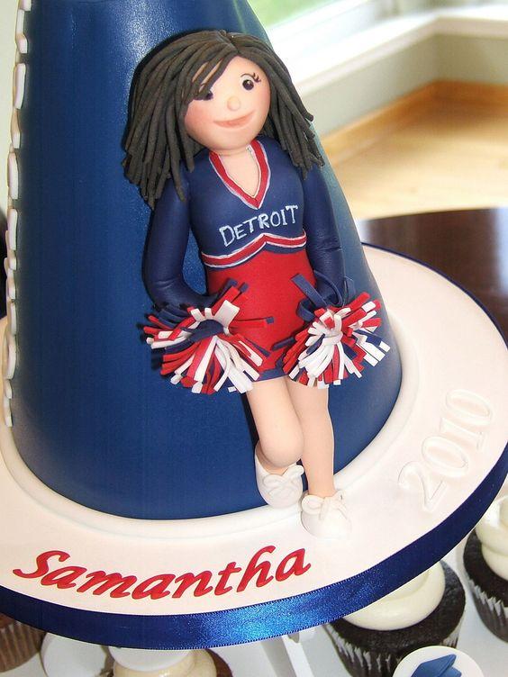 Cheerleading Cake - Cheerleader