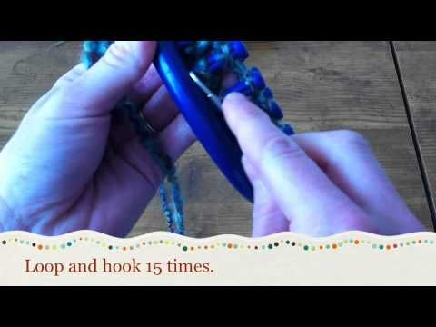 Boot Cuff Tutorial Youtube Loom Knitting Videos Pinterest