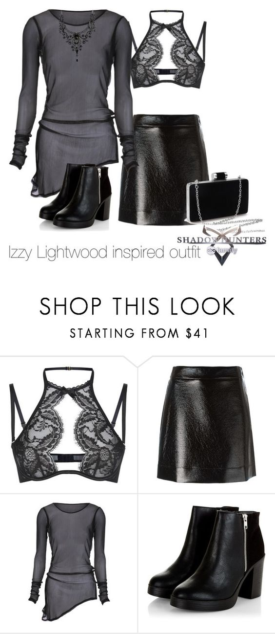 """""""Izzy Lightwood inspired outfit/SH"""" by tvdsarahmichele ❤ liked on Polyvore featuring Agent Provocateur and MICHAEL Michael Kors"""