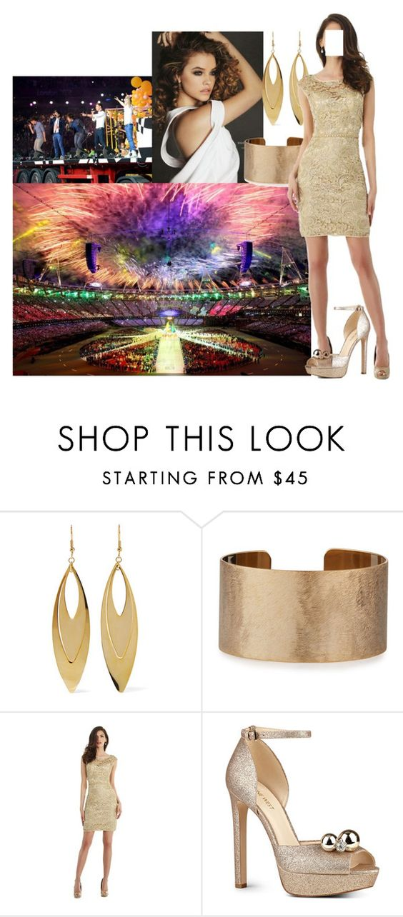 """""""-read- Being part of Summer Olympic Games Closing Ceremony as a representative of fashion section and later watching her brother and his mates performaning """"What Makes You Beautiful"""""""" by princessofpeople ❤ liked on Polyvore featuring Kenneth Jay Lane, Panacea, Morrell Maxie and Nine West"""