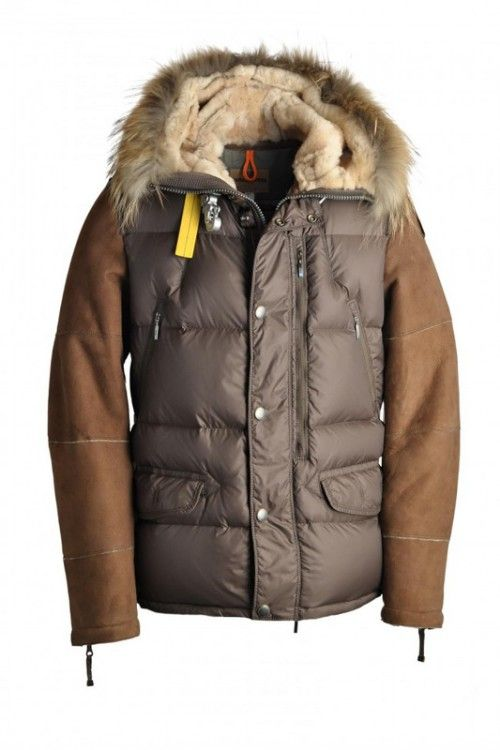 Canada Goose hats replica fake - Men's Parajumpers Gamble Jackets Brown Cheap On Sale. | PJS ...