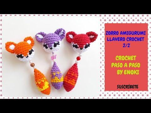 Amigurumi Crochet Fox Free Pattern-Patron Zorro Oso Chango ...   360x480
